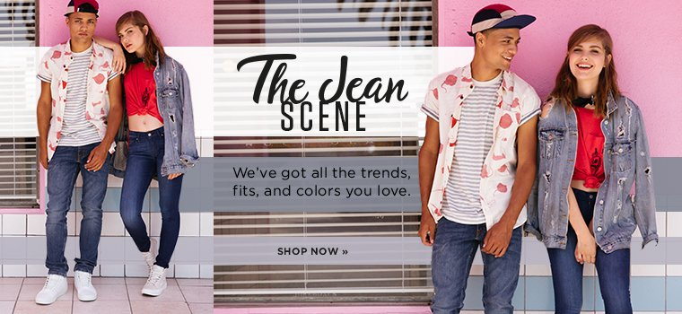 The Jean Scene. Shop Now.