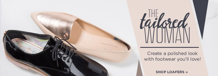The Tailored Women. Shop Loafers