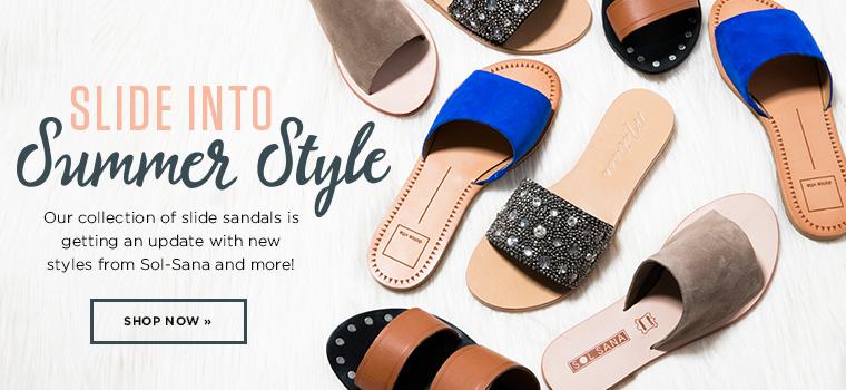 Slide Sandals- Contemporary