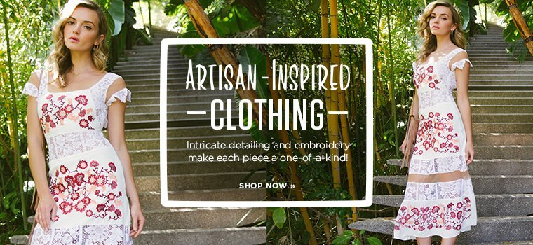Artisan-Inspired Clothing- Contemporary