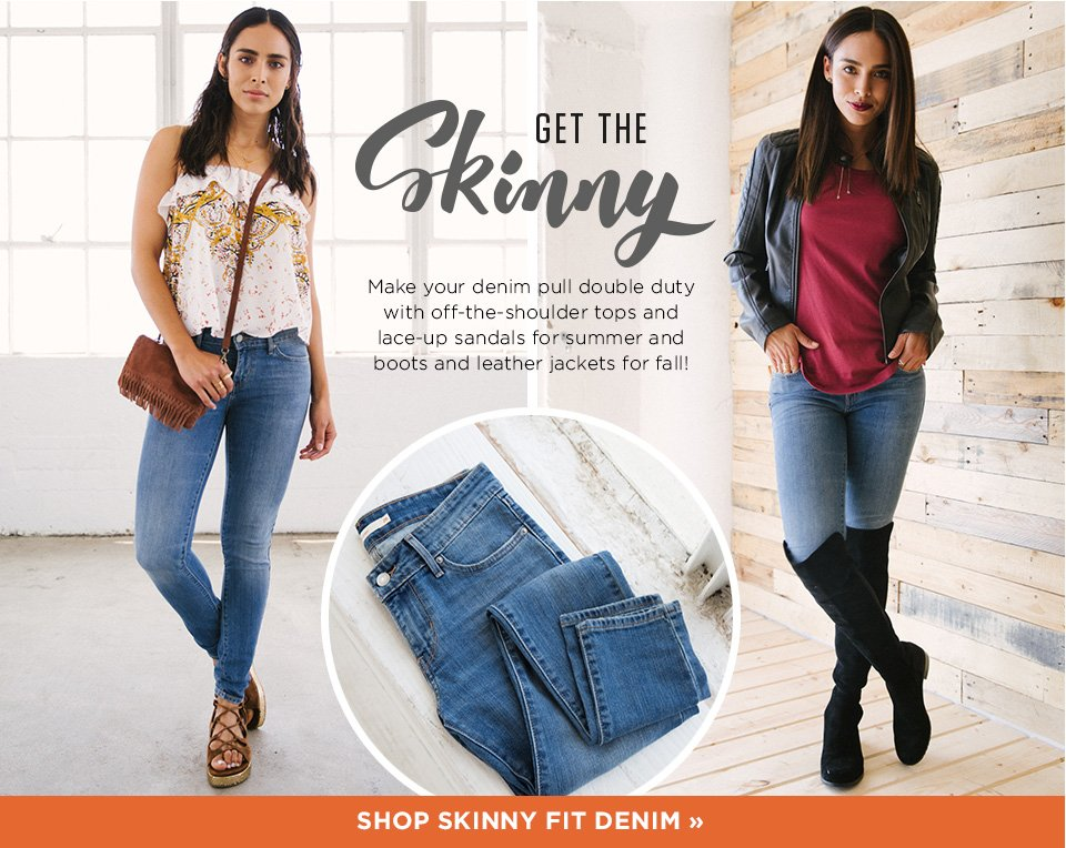 Skinny Fit Denim
