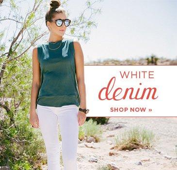 SP- White Denim