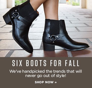 SP- Six Boots For Fall