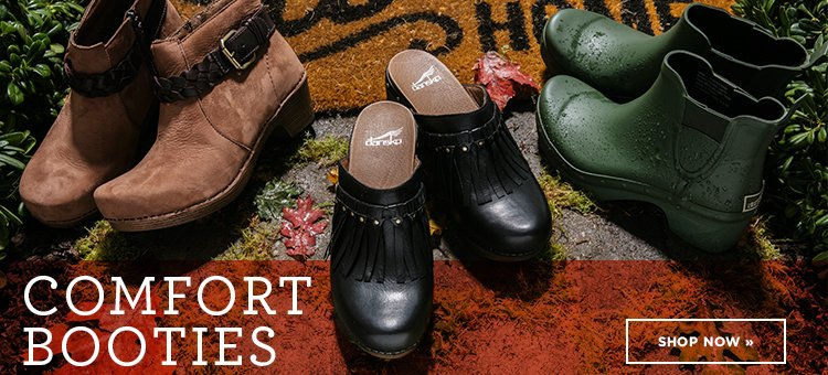 Hero 1- Comfort Booties. Shop Now