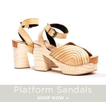 SP- Platform Sandals