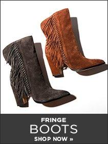 sp - Fringe Boots