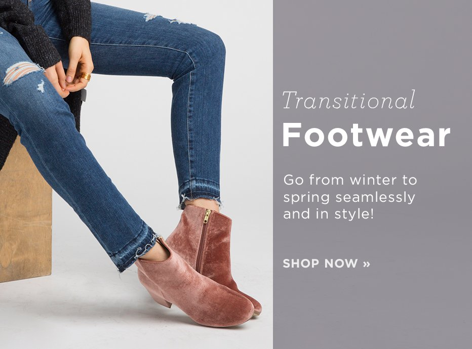 Transitional Footwear