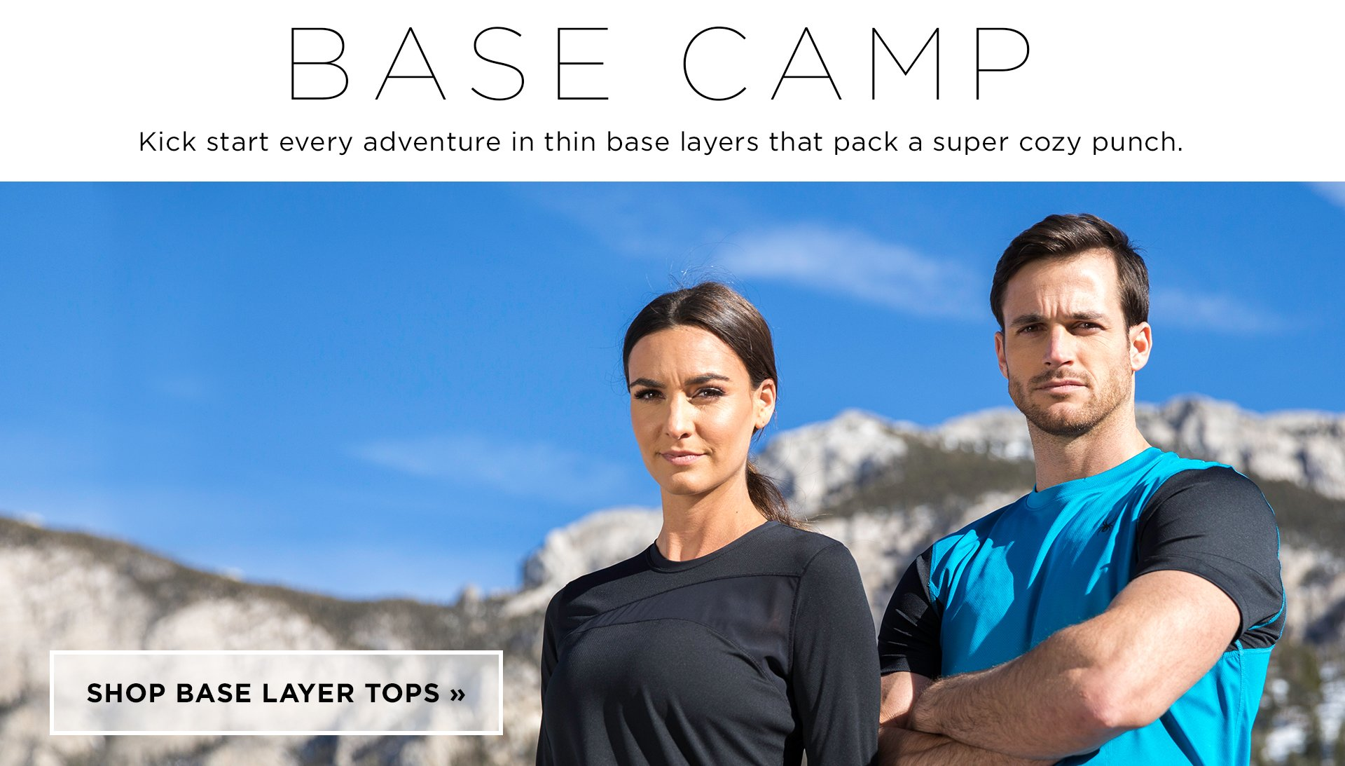 Spyder Base Layer Tops