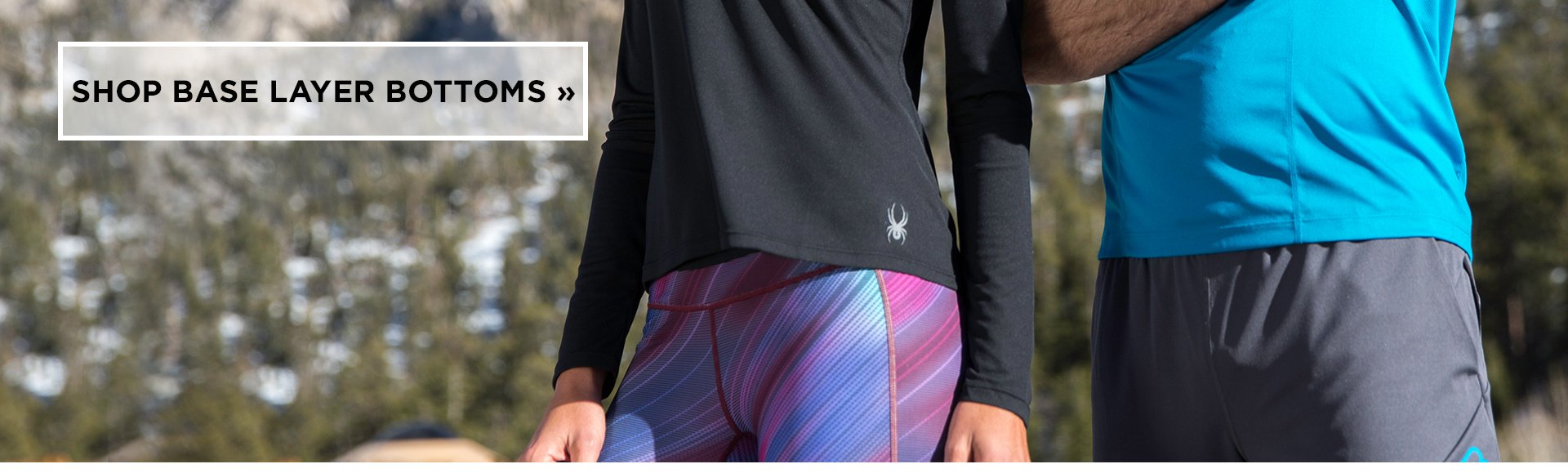 Spyder Base Layer Bottoms