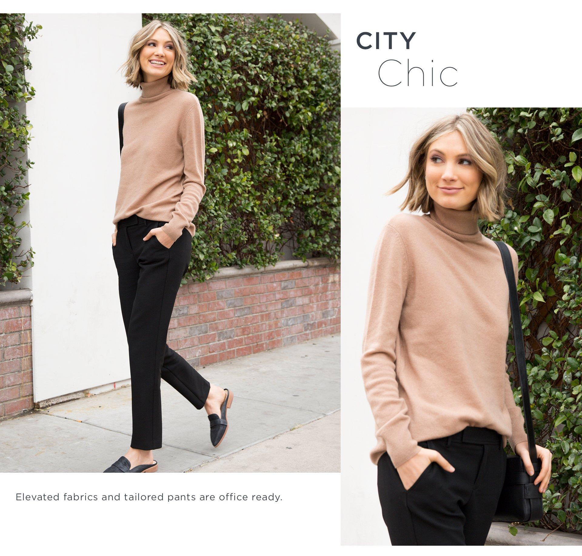 Turtleneck-City Chic