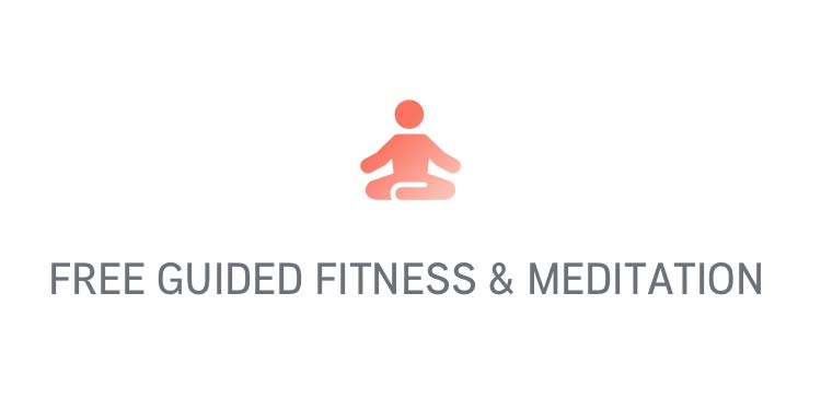 Free guided fitness & meditation