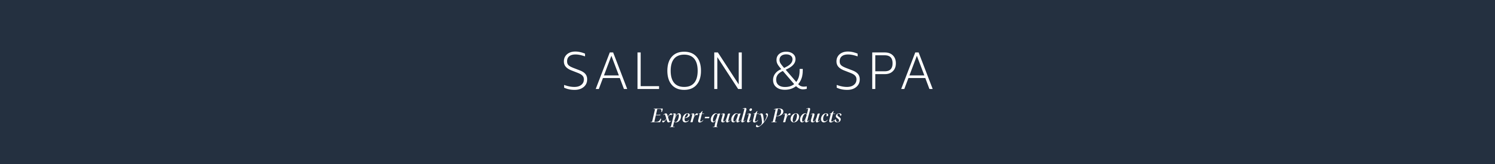 Salon and Spa Quality products sold by Amazon