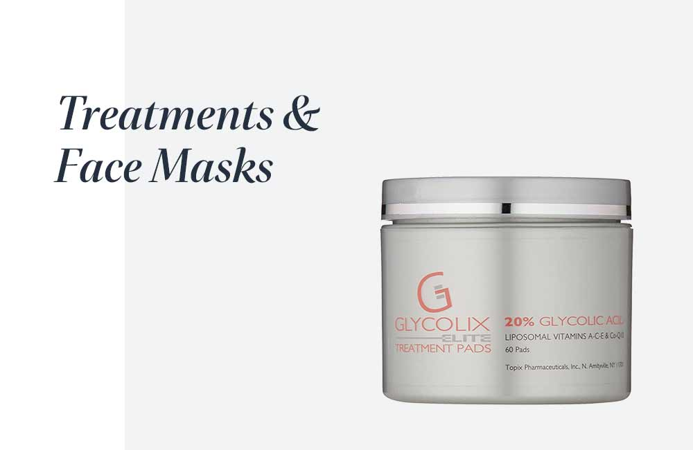 treatments & face masks