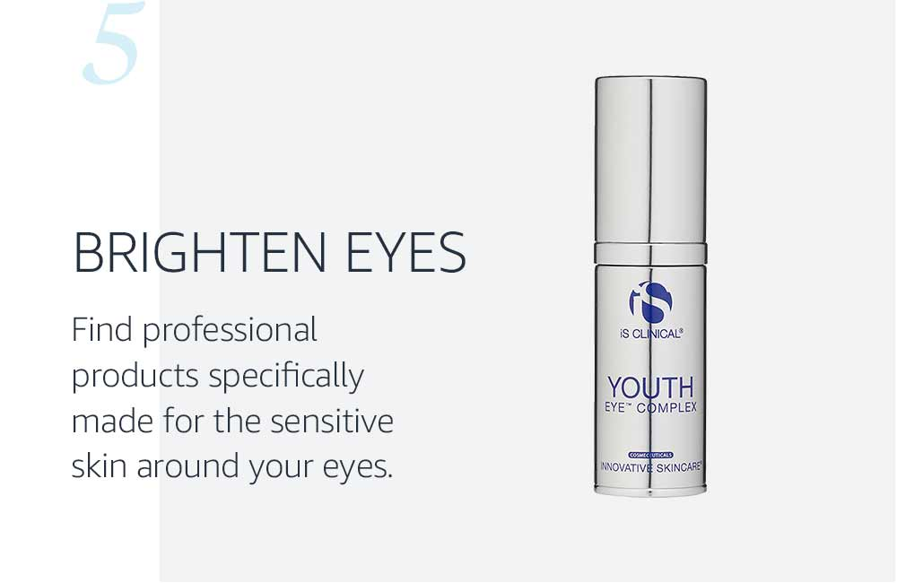 eye cream as step five of skincare routine