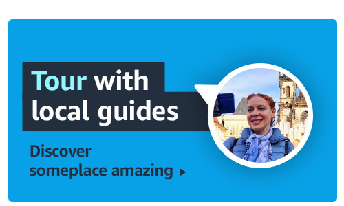 Tour with local guides. Discover someplace amazing