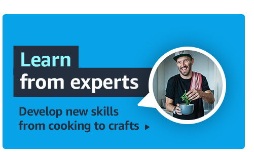 Learn from experts. Develop new skills from cooking to crafts