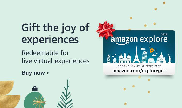 Gift the joy of experiences - Amazon explore gift card