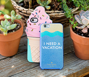 Ice Cream Phone Case and I Need a Vacation Phone Case