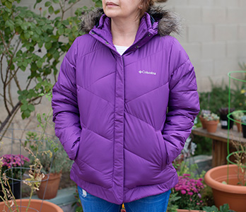 Purple Insulated Jacket