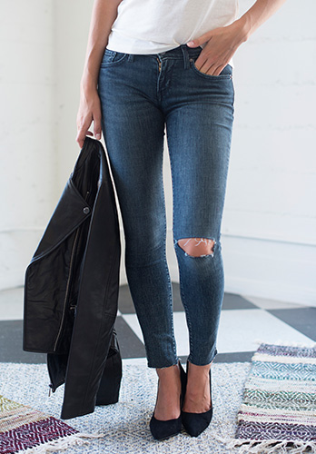 Women's Skinny Jeans Outfit
