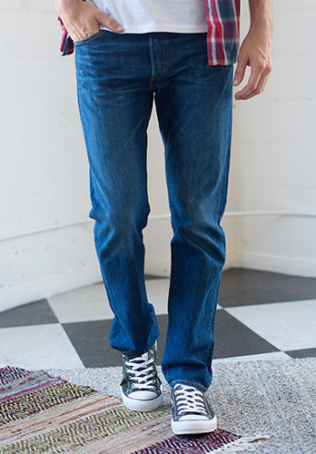 Men's Straight Leg Jeans Outfit