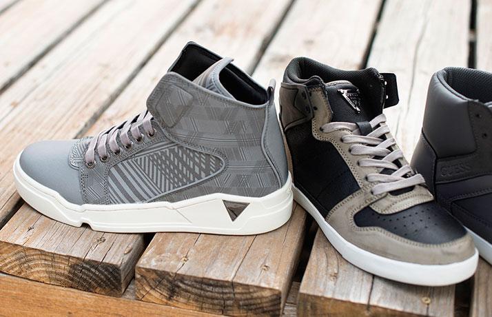 Men's High-Top Street Sneakers