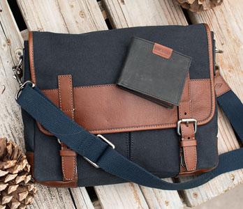 Men's Messenger Bag & Wallets