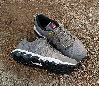 Reebok Brown Trail Sneakers