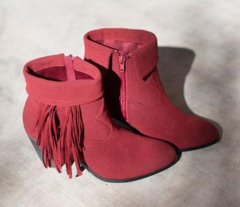 Red Women's Booties
