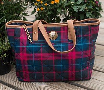 Plaid Tommy Hilfiger Handbag