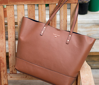 Brown Cole Haan Tote