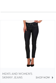 Men's and Women's Skinny Jeans