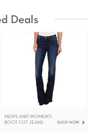 Men's and Women's Boot Cut Jeans