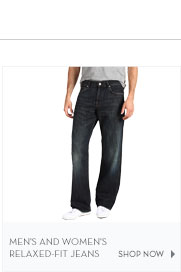 Men's and Women's Relaxed-Fit Jeans