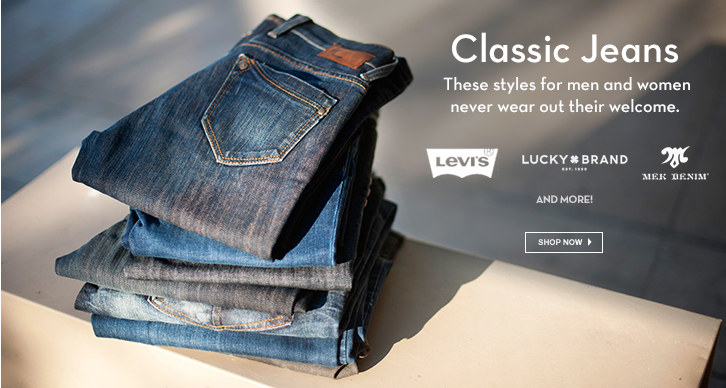 Levi's, Lucky, Mek and more