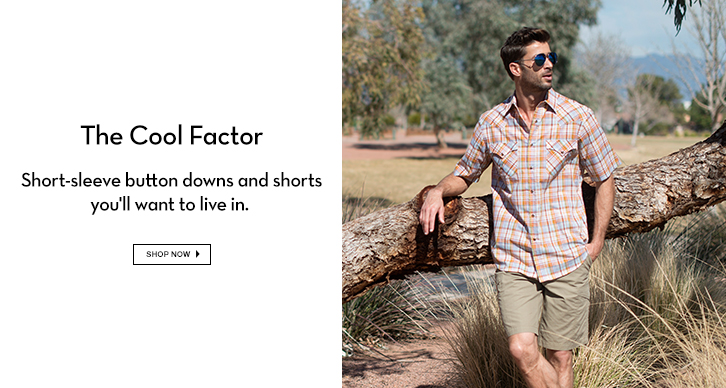 Men's Short sleeve button downs & Shorts