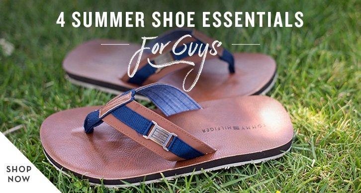 Summer Shoe Essentials for Men