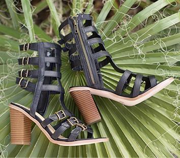 Glam Gladiator Sandals