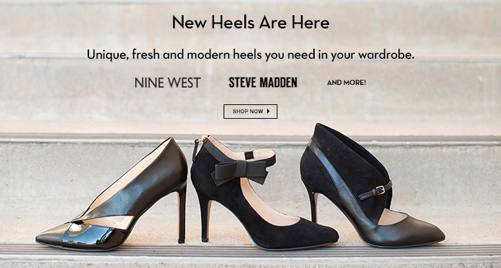 Nine West, Steve Madden, and more!