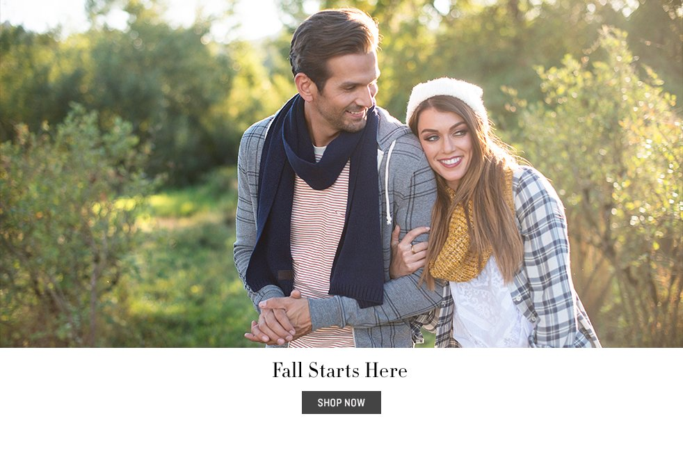 Fall Starts Here Lookbook