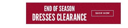 End of Season Dresses Clearance