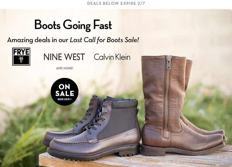 2/4 - Last Call: Boots