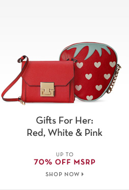 2/8 - Gifts For Her: Red, White & Pink