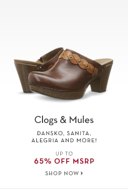 2/10 - Clogs & Mules