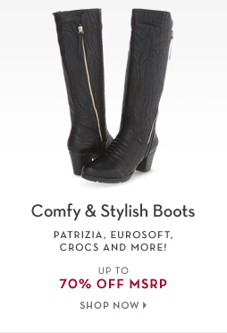 2/13 - Comfy & Stylish Boots