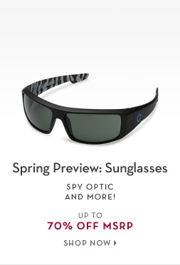 2/13 - Spring Preview: Sunglasses