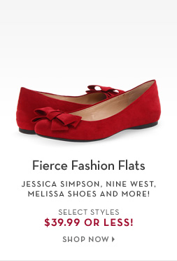 2/14 - Fierce Fashion Flats