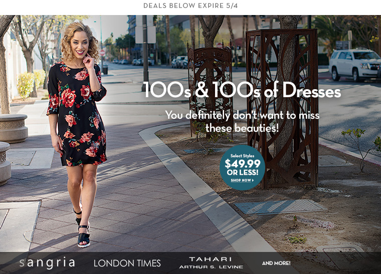 A 5/2 - 100s &100s of Dresses
