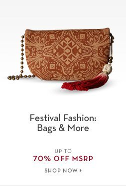 B 5/29 - Festival Bags, Accessories and Sandals.