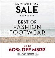 MEMORIAL DAY SALE: Fashion Footwear